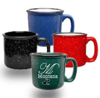 15 oz Campfire Mug Ceramic mug sold by Montana Glassworks
