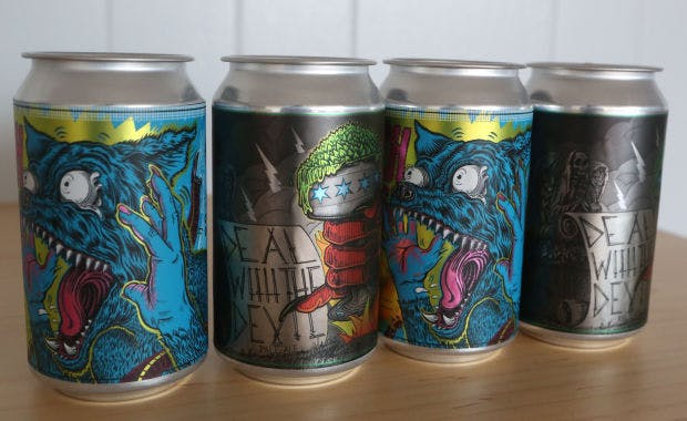 Beer Can Labels