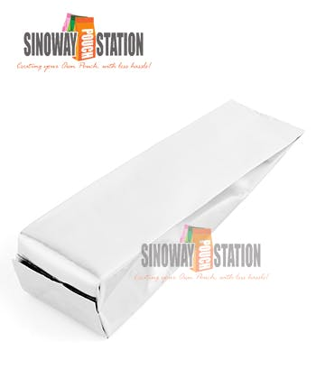 Foil Side Gusseted Pouch - sold by sinowaypouchstation.com,LLC