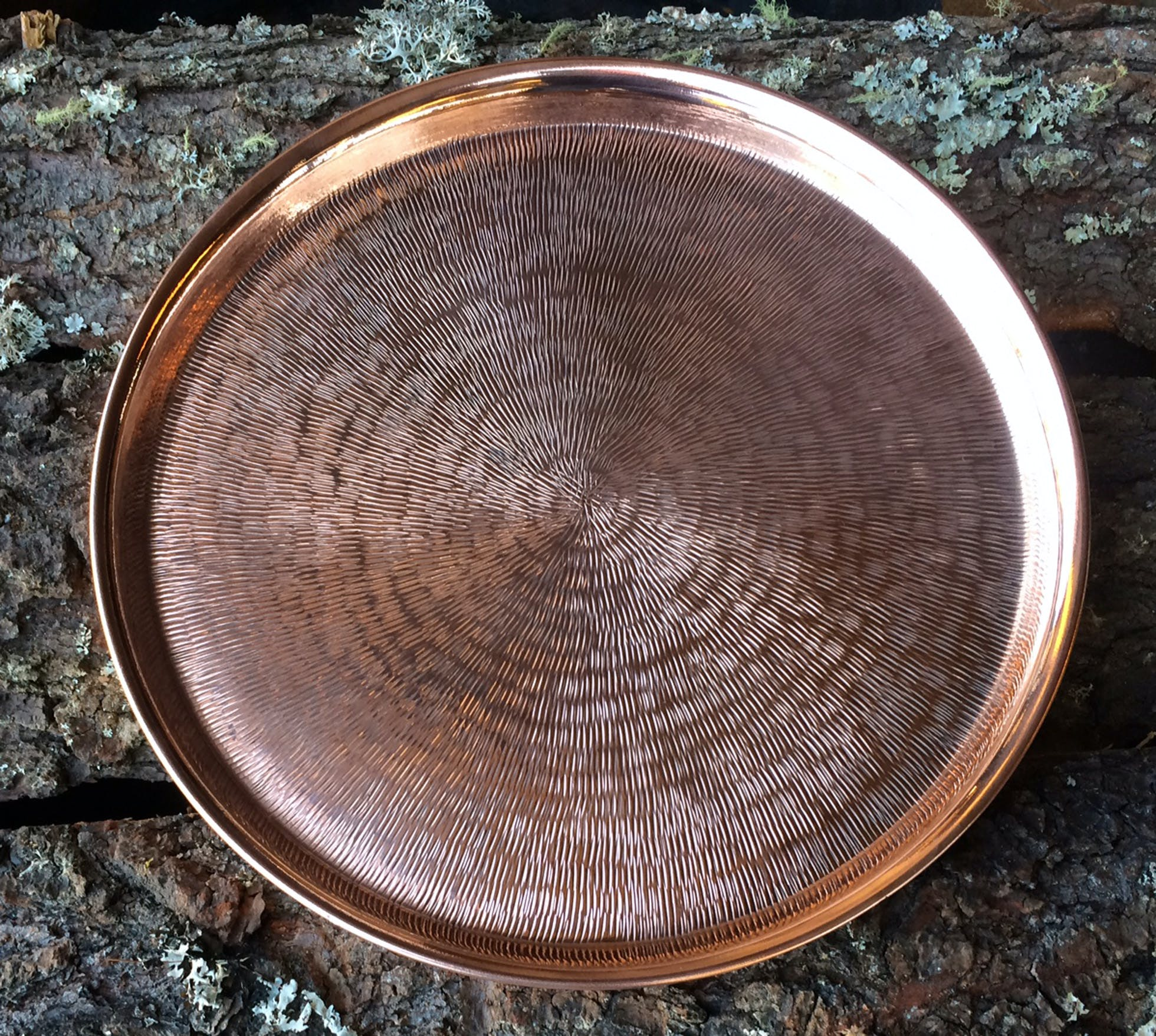 Copper Trays Copper mug sold by Hammered Mules