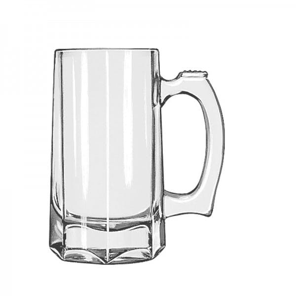 12 oz. Glass Beer Mug