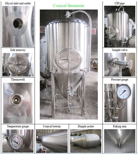 Conical Fermenter Fermenter sold by Brew Bev