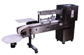 AM MFG Bench Top Knife Divider/Former Model RK3300 Single Bank Bagel Divider and Former Bagel divider and former sold by Bakery Equipment.com