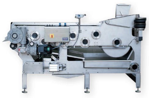 Kreuzmayr Belt Press KEB 1000 Fruit press sold by Juicing Systems