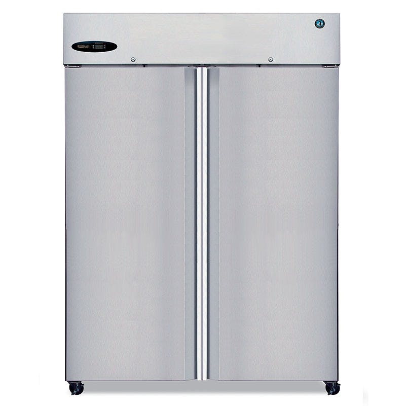 Hoshizaki CR2S-FS Commercial Series Two Section Refrigerator With Full Height Stainless Steel Doors, 51 Cu Ft Commercial refrigerator sold by Mission Restaurant Supply