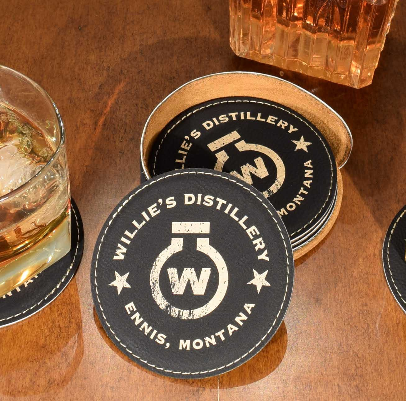 Coasters Barrel sold by Thousand Oaks Barrel Co.