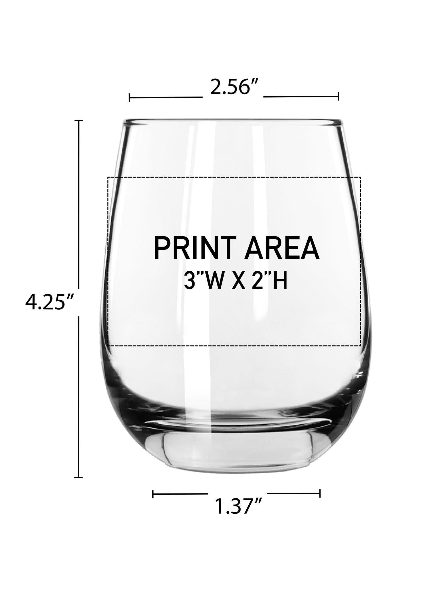 15 oz. Stemless Wine #311 - sold by Clearwater Gear
