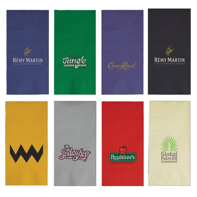 Dinner Napkin (Item # GDEMO-IWUBR) Napkin sold by InkEasy
