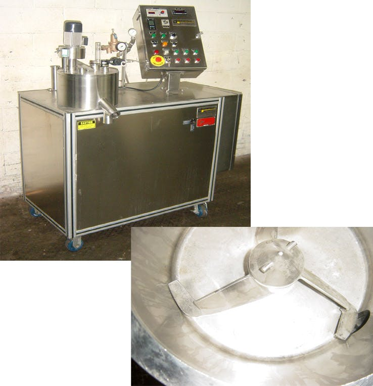 ZANCHETTA ROTO J 7-LITER S/S JKTD.PROCESSOR Mixer sold by Union Standard Equipment Co