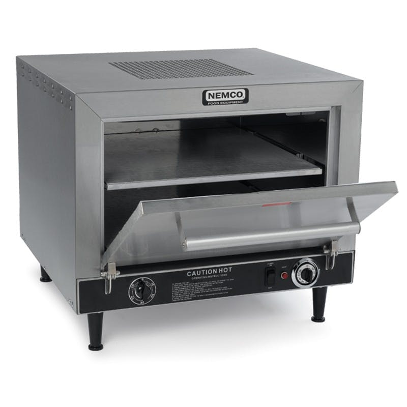 Nemco 6205 Countertop Pizza Oven, 2 Deck Pizza Oven, 120v Pizza oven sold by Mission Restaurant Supply