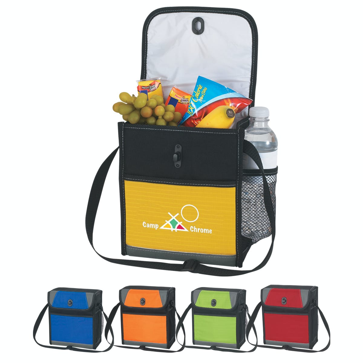 Lunch Cooler (Item # QGKKP-GGYEY) Insulated cooler sold by InkEasy