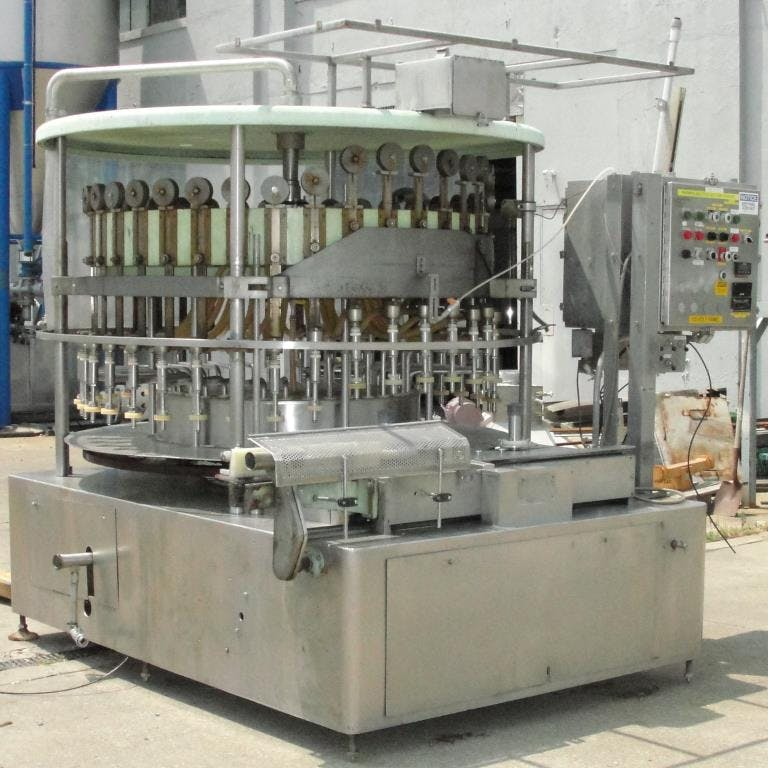 U.S Bottlers Machinery Company Model GE36LS liquid vacuum filler Filling machine sold by Special Projects International