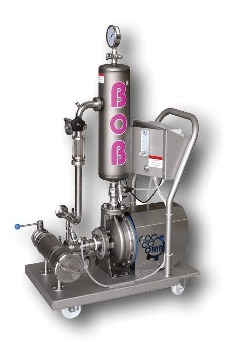 OMAC enosoluzioni BOB 0.7 Winemaking clarifiers Winemaking Clarifier sold by Prospero Equipment Corp.