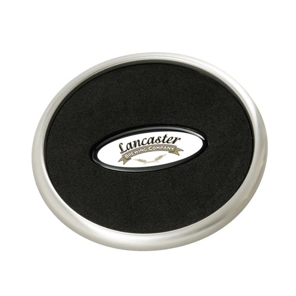 PhotoVision Stainless Steel Coaster Drink coaster sold by MicrobrewMarketing.com