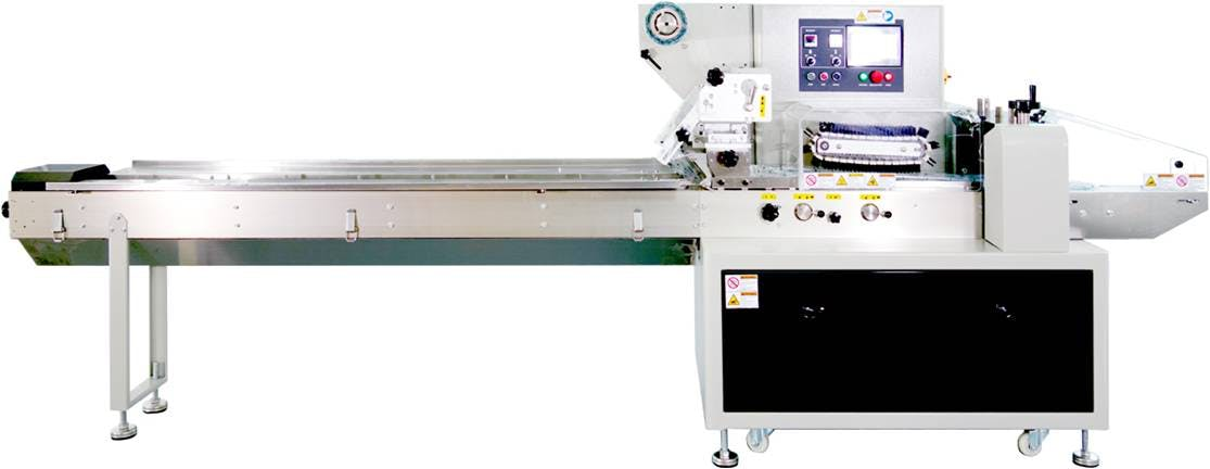 Horizontal Flow Wrapping Machine - CS-Series Flow wrapper sold by Sealer Sales