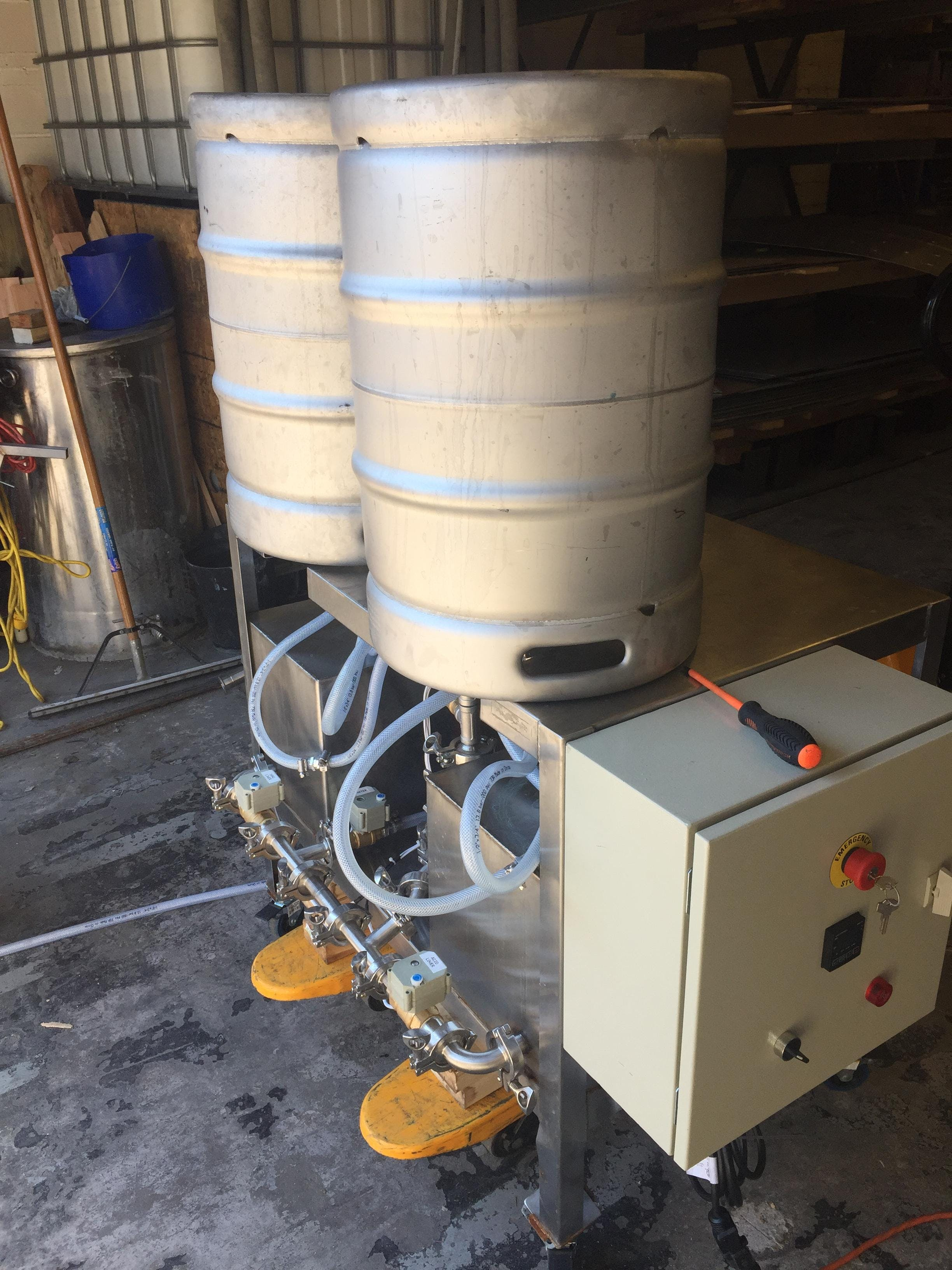 Systech Keg Washer Keg washer sold by Systech Stainless Works, LLC