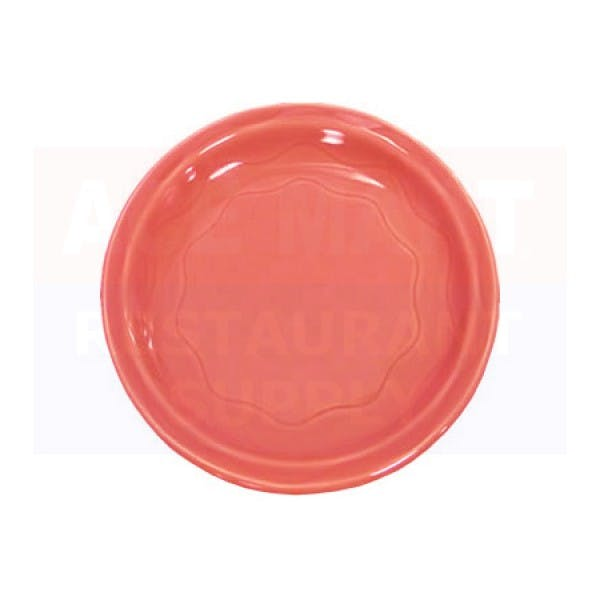 "Cantina 9"" Red Dinner Plate"
