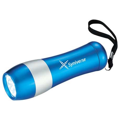 Flash Forward 9 LED Flashlight - 1220-94 - Leeds Promotional flashlight sold by Distrimatics, USA