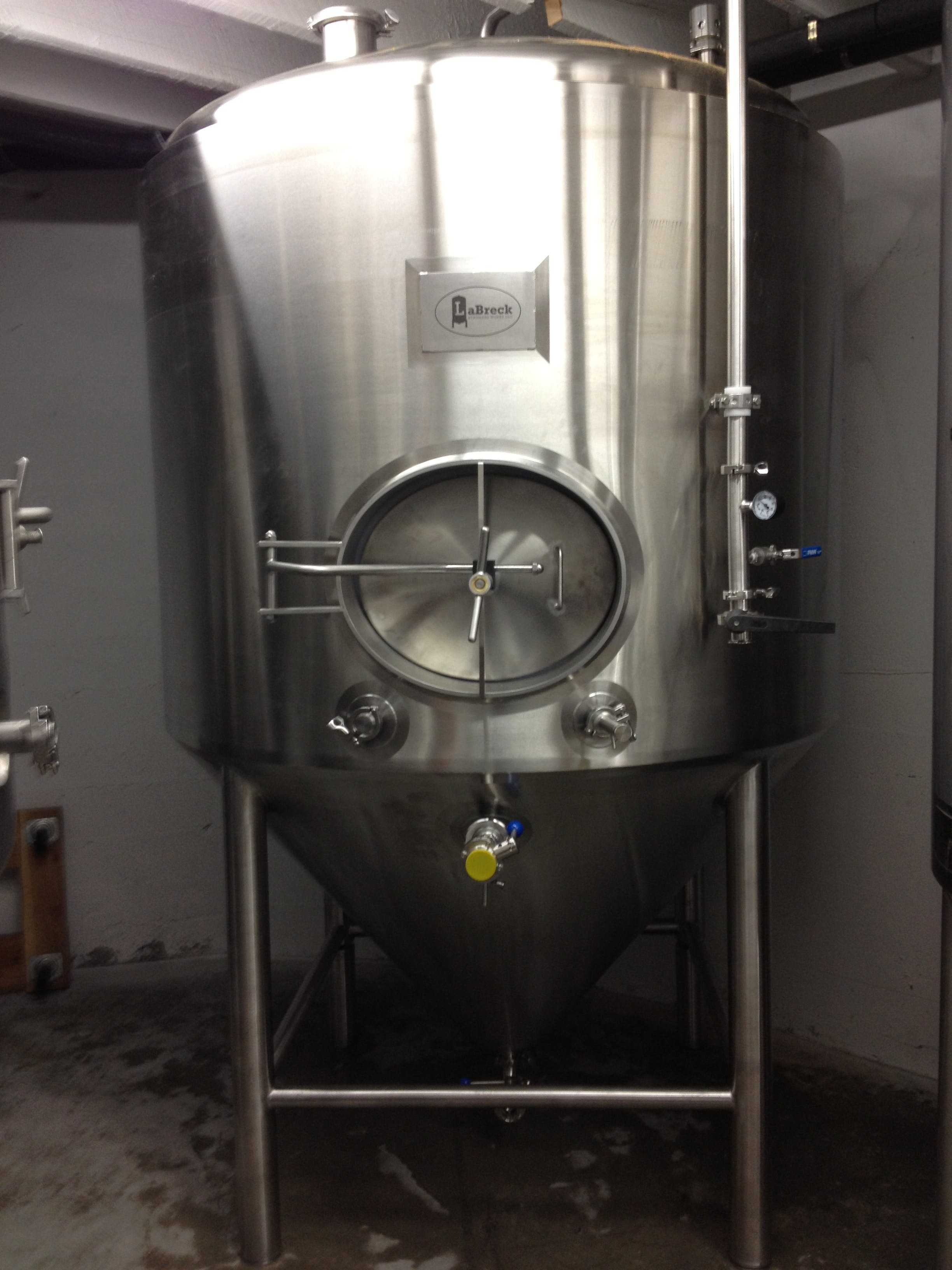 Fermenters - sold by LaBreck Stainless Works