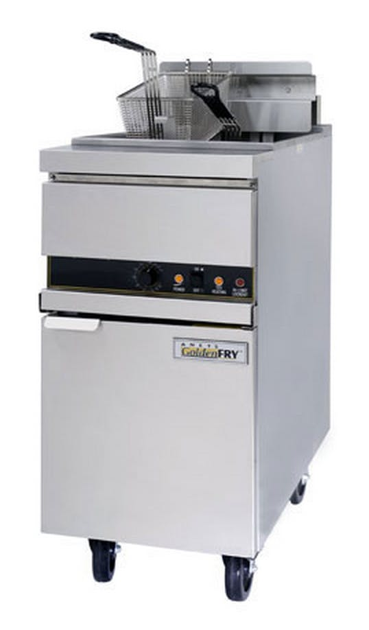ANETS (14EL-17) - 50 Lb High-Efficiency Electric Fryer - GoldenFry Series Commercial fryer sold by Food Service Warehouse