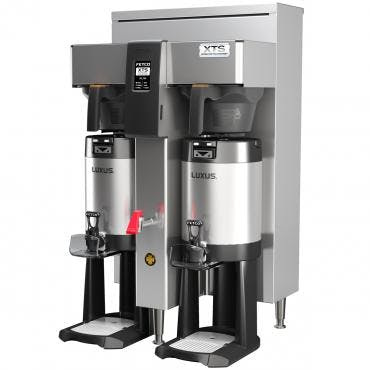 Fetco CBS-2142XTS - Extractor Brewing System - Dual Station 1 Gallon - Steel Brew Basket Coffee machine sold by Prima Coffee