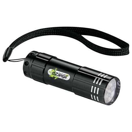 Flare 9 LED Flashlight - 1220-80 - Leeds Promotional flashlight sold by Distrimatics, USA