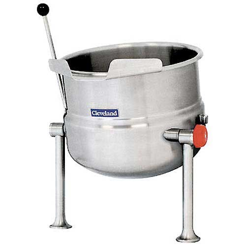 Cleveland Range (KDT-6-T) - 6 gal Tilting Direct Steam Kettle Steam kettle sold by Food Service Warehouse