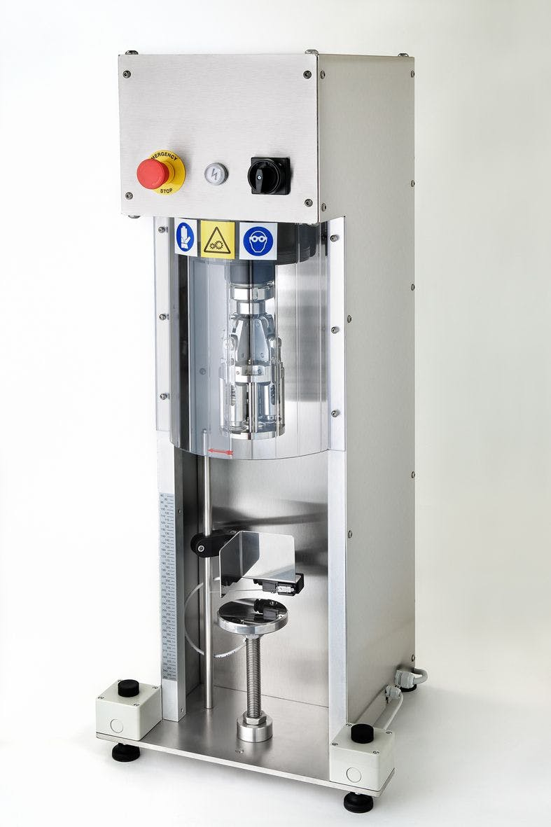 Semi Auto ROPP Capping Machines Bottle capper sold by IC Filling Systems