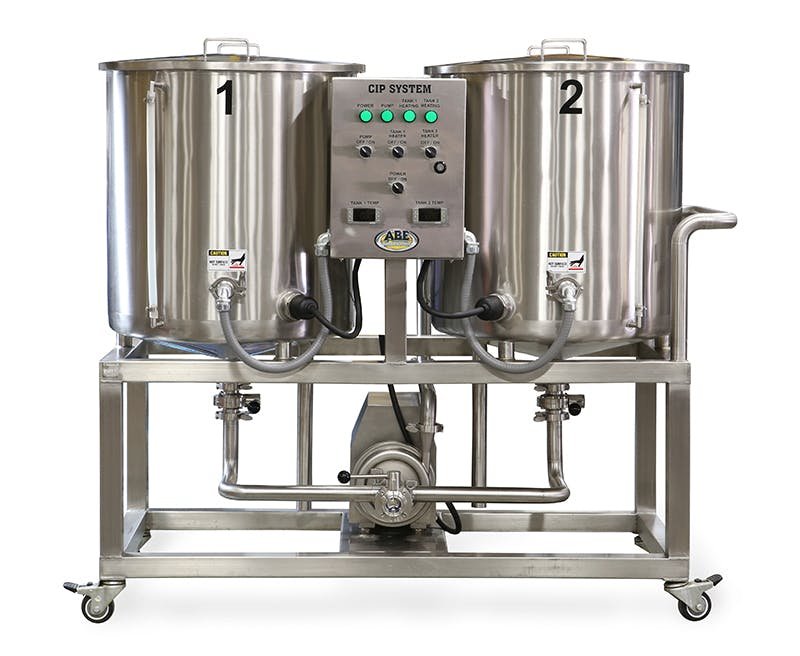 CIP System - CIP System - sold by American Beer Equipment