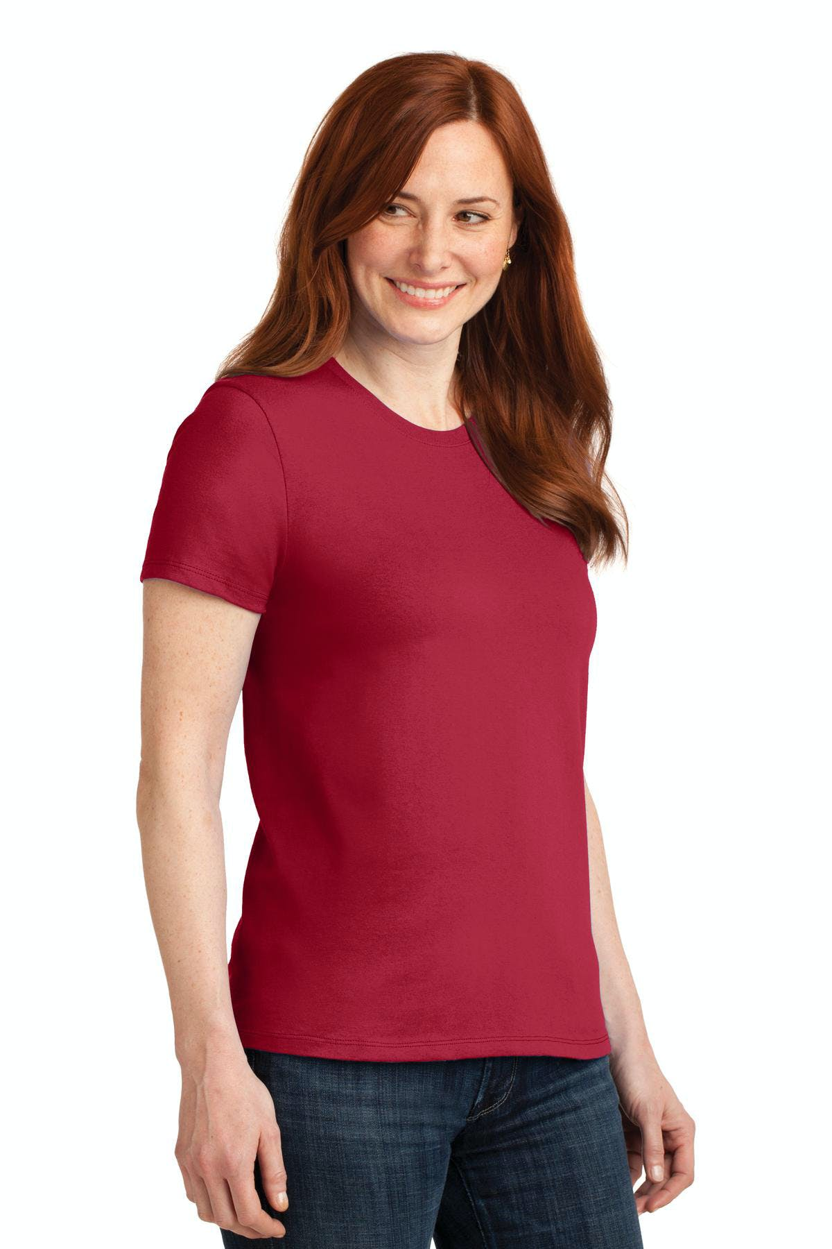 Port & Company® Ladies Core Blend Tee - sold by PRINT CITY GRAPHICS, INC