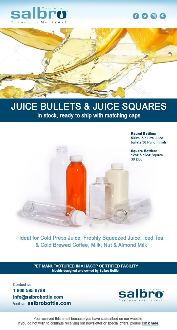 Juice bottles Plastic jar sold by Salbro Bottle