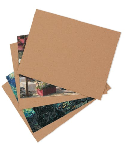 Chipboard Pads Cardboard carton sold by Ameripak, Inc.