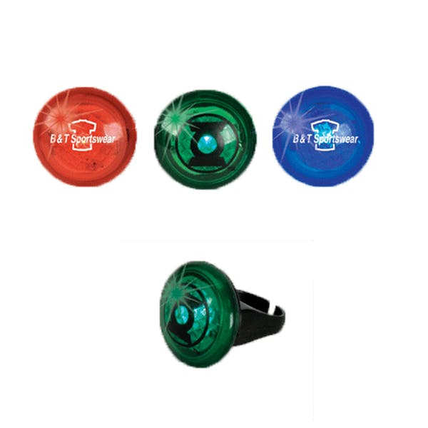 Flashing Strobe Ring Promotional product sold by MicrobrewMarketing.com