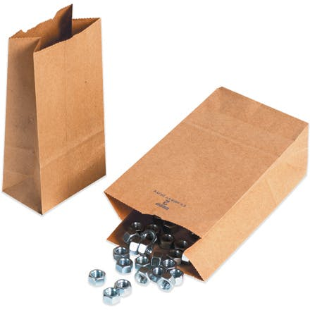heavy-weight kraft Hardware Bags Kraft packaging sold by Ameripak, Inc.