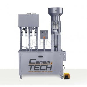 Monobloc 4 Head filler & Corker Bottle filler sold by GW Kent