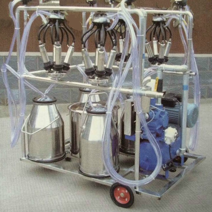 Vacuum Pump for 4 Cows - Quad-Cow Milker Vacuum pump sold by 4mul8 Marketing Solutions