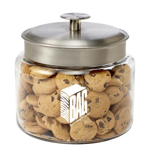 Glass Cookie Jar (Item # EILJM-HQRIX) Glass Jar sold by InkEasy