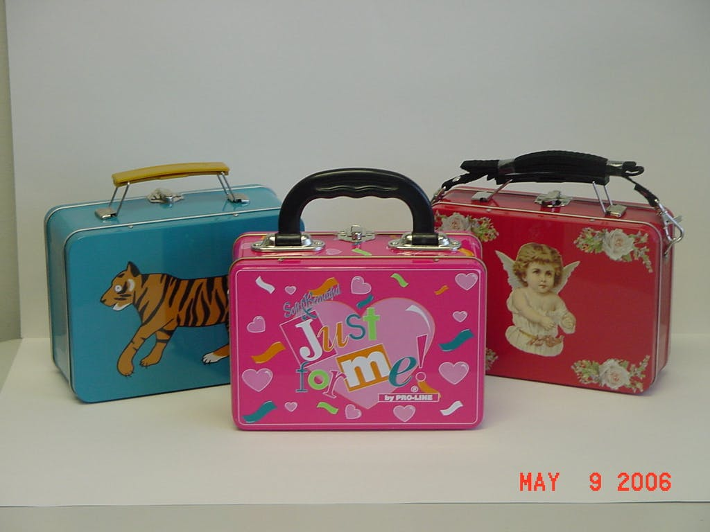 Custom Tin Lunch Boxes in a wide assortment of sizes - Custom Tin Packaging, Containers and Specialty Products (Minimum Order Quantity is 5,000 pcs depending upon the size of the tin) - sold by Tin King USA