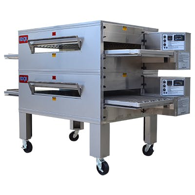 EDGE 2460 Series Double-Stack Gas Conveyor Pizza Oven Commercial oven sold by Pizza Solutions
