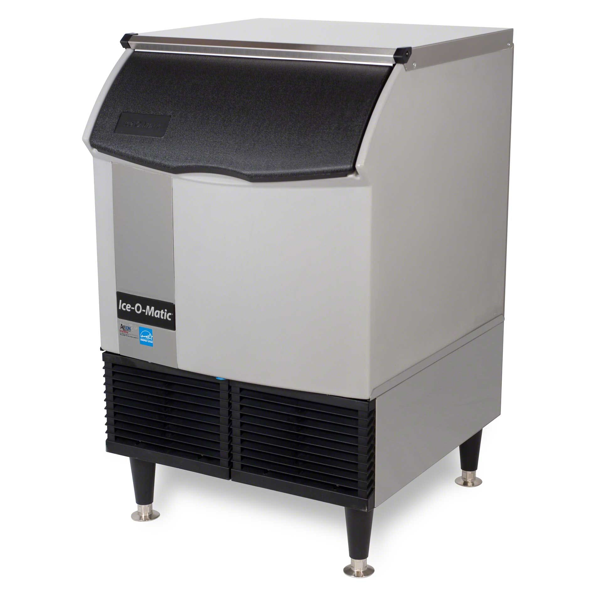 Ice-O-Matic - ICEU220HW 251 lb Self-Contained Half Cube Ice Machine Ice machine sold by Food Service Warehouse
