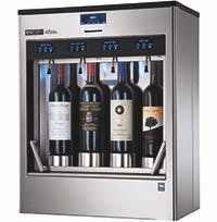 Enoline ELITE® 4-bottle and 8-bottle Wine pub system sold by Enomatic Wine Serving Systems