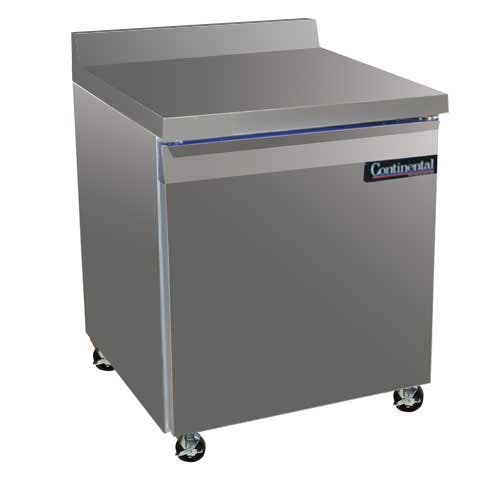 "Continental Refrigerator - SW27-BS 27"" Worktop Refrigerator Commercial refrigerator sold by Food Service Warehouse"