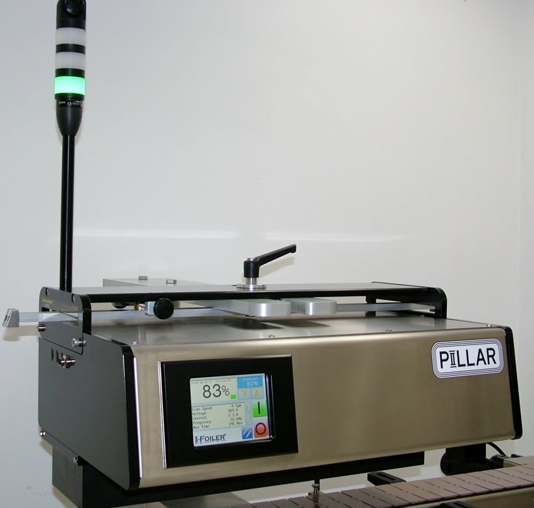 IFoiler Induction sealer sold by Pillar Technologies