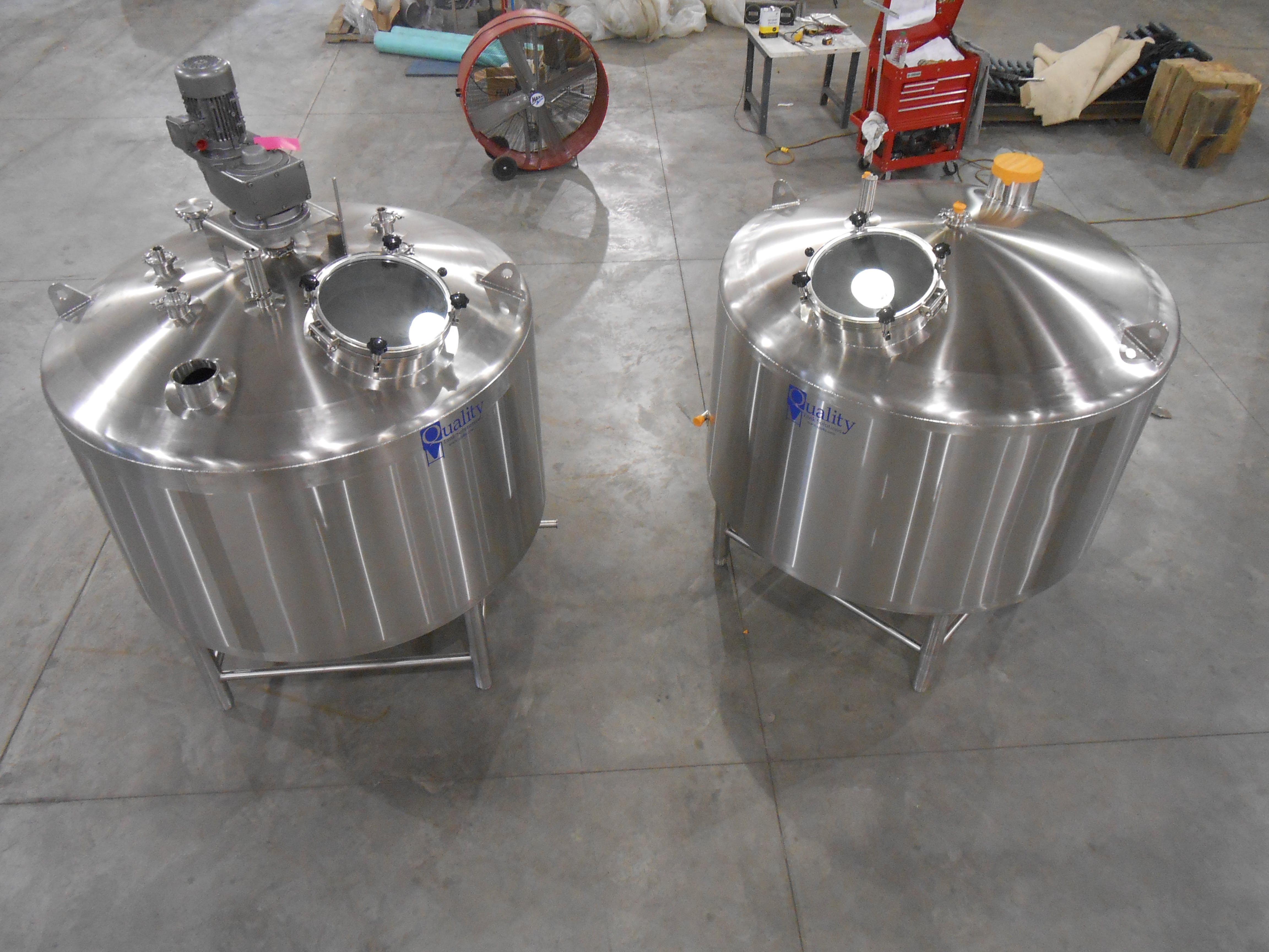 Mash Lauter Tun Mash tun sold by Quality Tank Solutions