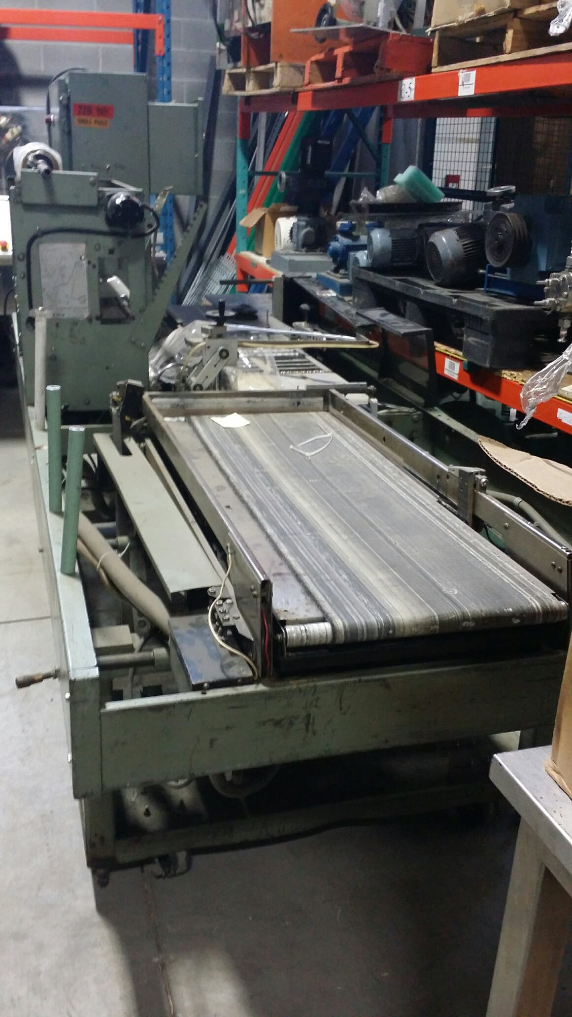 WELDOTRON 5911 Automatic L Bar Shrink Shrink wrapper sold by Aevos Equipment