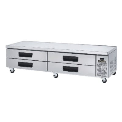 BlueAir Refrigerated Equipment Stand / Chef Base with 4 drawers (21.4 cu ft) - sold by pizzaovens.com