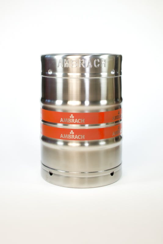 1/2BBL Keg sold by Ambrach LLC