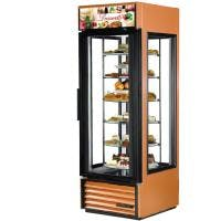 True G4SM-23-RGS - 23 Cu. Ft. Rotating Glass Shelf Merchandiser Merchandiser sold by Prima Supply
