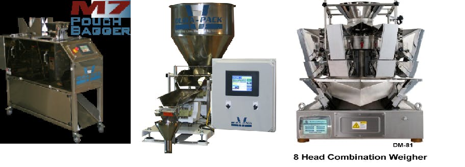 Automated Bag Filling w/Net Weight Filler Bag filling machine sold by Peak Equipment