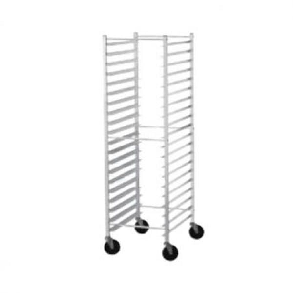 30 Slot Aluminum Mobile Cooling Rack